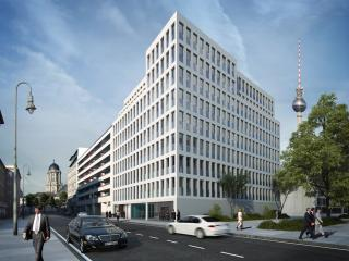 Image for promotion purposes. / 3d + post production by imagonauten as subcontractor for XOIO. Design by external architectural firm for undisclosed Developer, Berlin