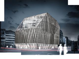 """Biennale entry """"Kaufhaus am Brill"""" / 3d + post production by imagonauten, design by Barkow Leibinger Architekten, Berlin."""
