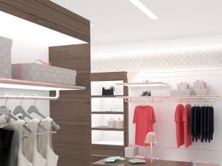 "Shop design ""Double Love"" - design accompanying images. / 3d and post production by imagonauten, design by David thulstrup Architects, Copenhagen."
