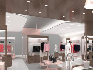 "Shop design ""Double Love"" - design accompanying images. / 3d and post production by imagonauten, design by David thulstrup Architects, Copenhagen."
