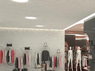 "Shop design ""TFL"" - design accompanying images. / 3d and post production by imagonauten, design by David thulstrup Architects, Copenhagen."