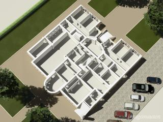 """Verified views - """"House of the Grand Lodge of Free Masons in Berlin Heerstrasse, 3WK"""" / 3d + post production by imagonauten."""