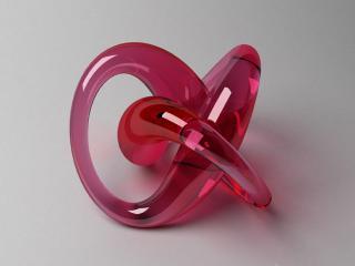 """Visualisation exercise - """"Torus knot"""". / Design, 3d + post production by imagonauten / Daniel Linder."""