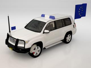 """Car study """"Security vehicle"""". / 3d + post production by imagonauten / Daniel Linder."""